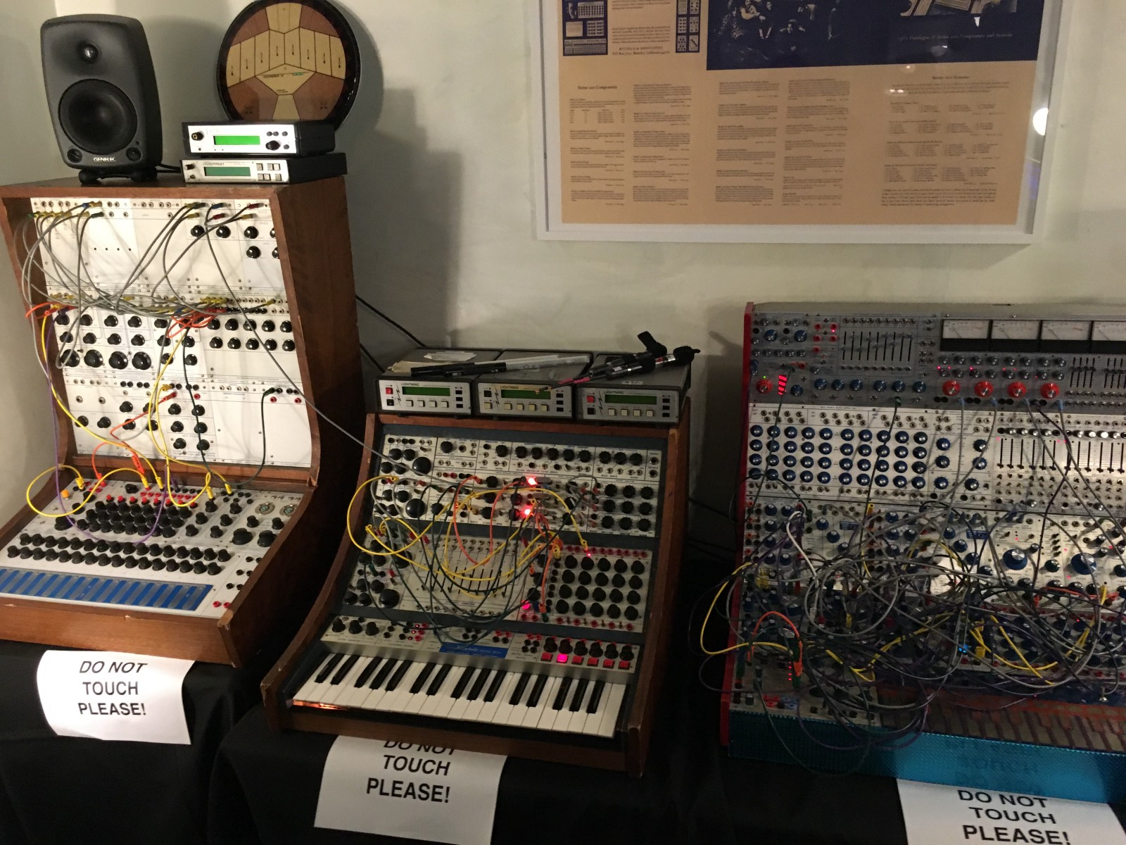 Buchla Synthesizers.